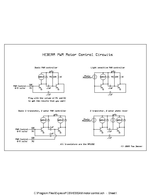 high entropy beam tom jenner simple hebeam motor control 10 dec 2005